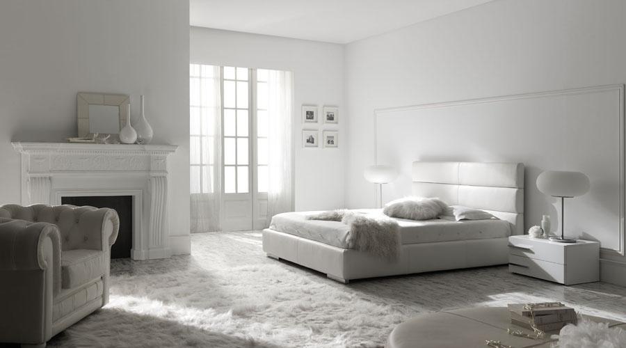Dormitorios modernos color blanco – dabcre.com