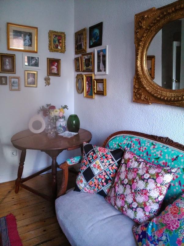 LucíaSeCasa en el Showroom de Franco Quintáns